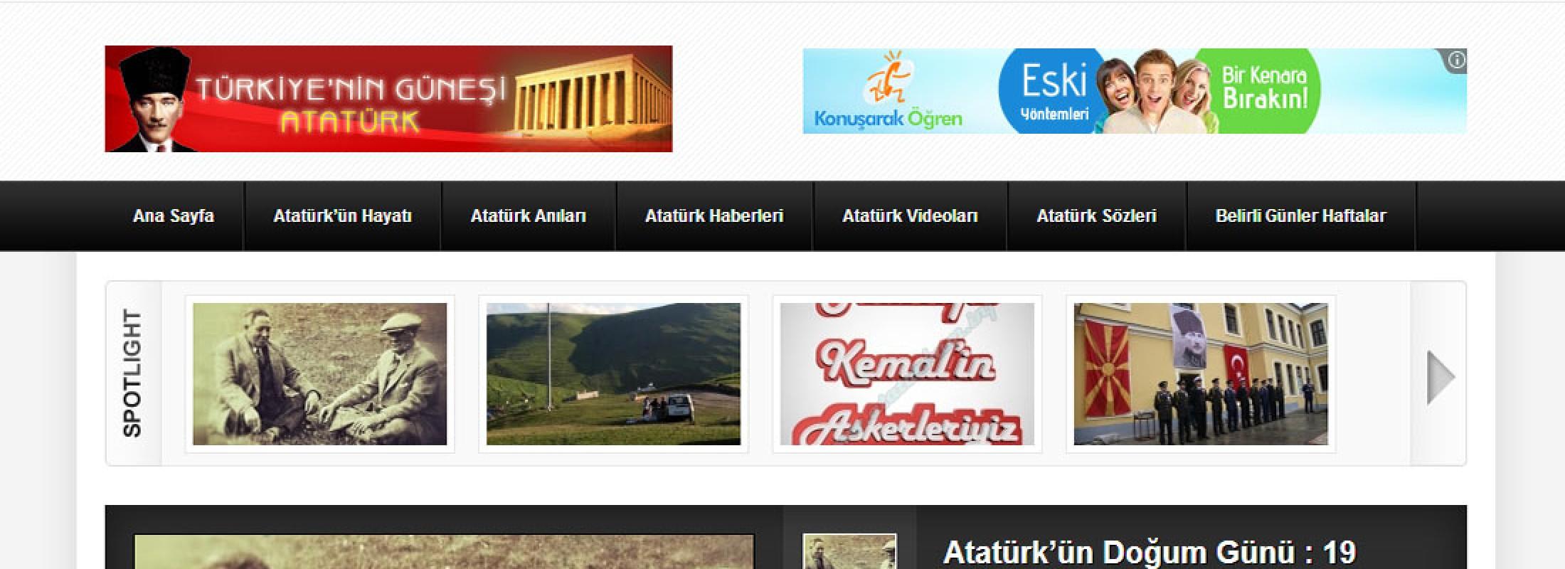 Mustafa Kemal Atatürk-Atatürk'üm.info