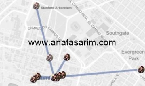 Facebook'ta Konuştuğunuz Kişilerin Yerlerini Tespit Eden Uzantı: Marauders Map