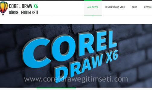 Corel Draw X6 Görsel Eğitim Seti