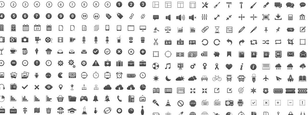 İkon Setleri – High-Quality Minimal Icon Sets