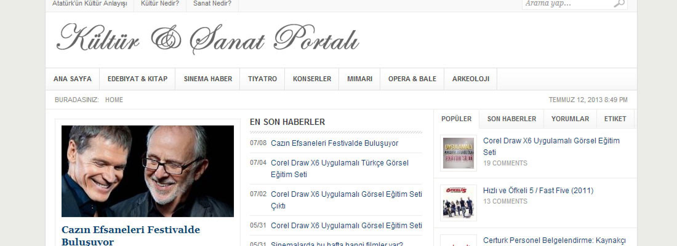Kültür Sanat Portalı