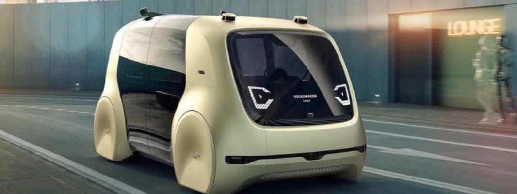 Volkswagen'den Bi' Acayip Otonom Konsept Araba!