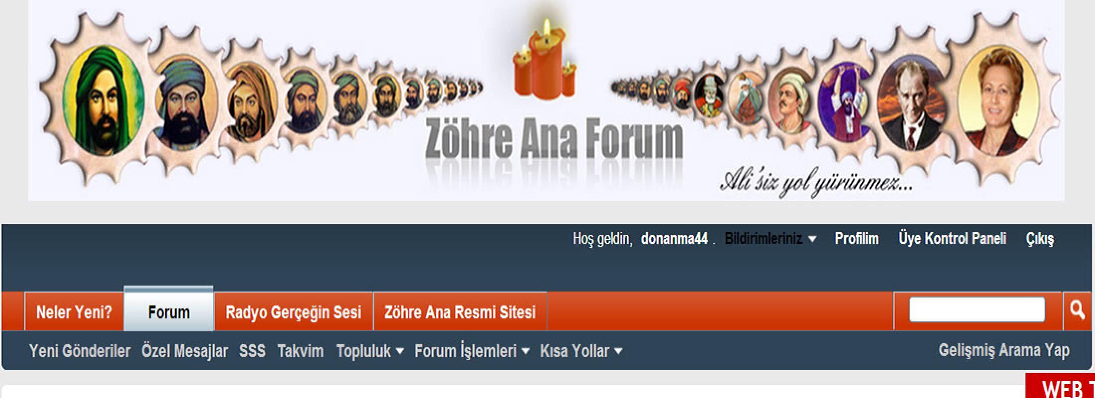 Zöhre Ana Forum